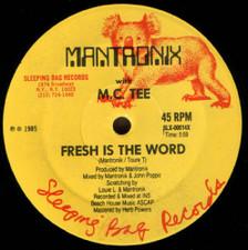 "Mantronix/Mc Tee - Fresh is the Word - 12"" Vinyl"