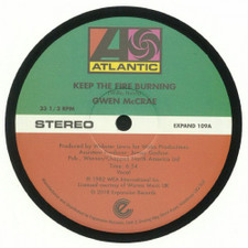 "Gwen McCrae - Keep The Fire Burning / Funky Sensation - 12"" Vinyl"