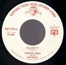 "Sharon Jones & The Dap Kings - Calamity - 7"" Vinyl"