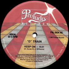 "D Train - Keep On - 12"" Vinyl"