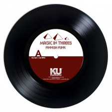 "Magic In Threes - Finnish Funk / Shot Through The Grease - 7"" Vinyl"
