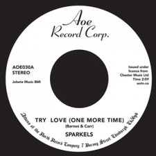 "The Sparkels - Try Love (One More Time) - 7"" Vinyl"
