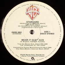 "Stargard - Wear It Out - 12"" Vinyl"