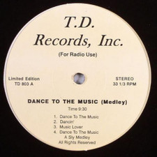 """Sly & The Family Stone - Dance To The Music (Medley) - 12"""" Vinyl"""