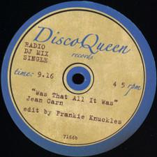 """Talking Heads / Jean Carn - I Zimbra / Was That All It Was (Frankie Knuckles edits) - 12"""" Vinyl"""