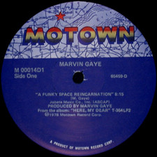 "Marvin Gaye - A Funky Space Reincarnation - 12"" Vinyl"