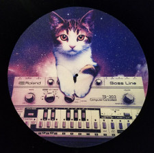 Cats On Synthesizers In Space - Roland TB-303 - Single Slipmat