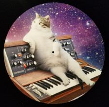 Cats On Synthesizers In Space - Minimoog - Single Slipmat
