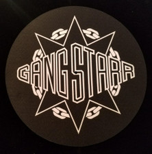 Gang Starr - Logo - Single Slipmat