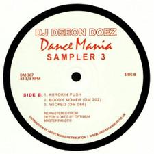 """DJ Deeon - Doez Dance Mania Sampler #3 - 12"""" Vinyl"""