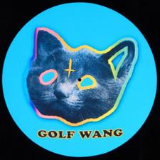Golf Wang - Blue Logo Satan Kitty - Single Slipmat