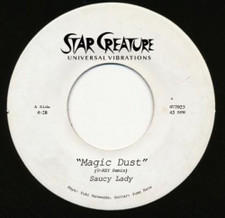 "Saucy Lady - Magic Dust - 7"" Vinyl"
