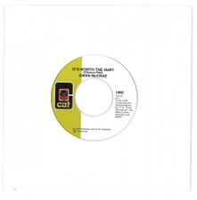 "Gwen McCrae - 90% Of Me Is You / It's Worth The Hurt - 7"" Vinyl"