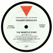 "Frankie Knuckles - The Whistle Song - 12"" Vinyl"