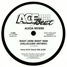 "Alicia Myers - Right Here Right Now (Hallelujah Anyway) - 12"" Vinyl"