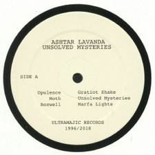 "Ashtar Lavanda - Unsolved Mysteries - 12"" Vinyl"