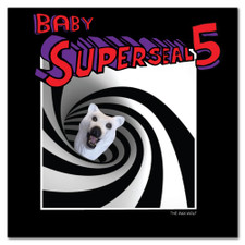 "Skratchy Seal - Baby Superseal 5 - 7"" Colored Vinyl"