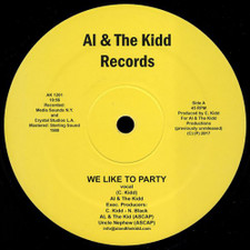 "Al & The Kidd - We Like To Party - 12"" Vinyl"