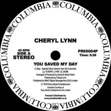 "Cheryl Lynn - You Saved My Day / Got To Be Real RSD - 12"" Vinyl"