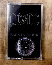 AC/DC - Back In Black RSD - Cassette
