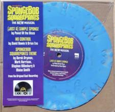 "Various Artists - Spongebob Squarepants - The New Musical RSD - 7"" Colored Vinyl"