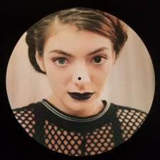 Lorde - Tennis Court Eyes - Single Slipmat