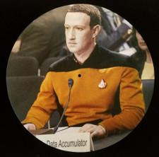 Mark Zuckerberg - Mr. Data Accumulator - Single Slipmat