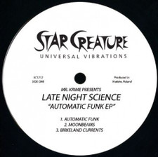 """Late Night Science - Automatic Funk EP - 12"""" Vinyl"""