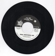 """Soul Brothers Six / Willie Tee - I'll Be Loving You / Walkin' Up.. - 7"""" Vinyl"""