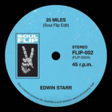 "Edwin Starr / Aretha Franklin - 25 Miles / A Change (Remixes) - 7"" Vinyl"