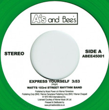 """Watts 103rd St. Rhythm Band / The Meters - Express Yourself / Just Kissed My Baby RSD - 7"""" Colored Vinyl"""