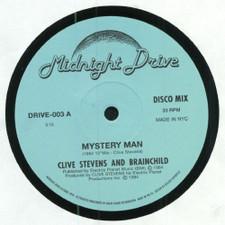 "Clive Stevens & Brainchild - Mystery Man - 12"" Vinyl"