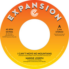 "Margie Joseph - I Can't Move No Mountain - 7"" Vinyl"