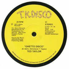 "Ted Taylor - Ghetto Disco - 12"" Vinyl"