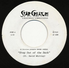 """DJ Friction present Ground Control - Step Out Of The Dark - 7"""" Vinyl"""