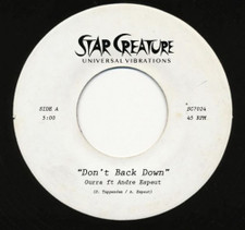 "Ourra ft Andre Espeut - Don't Back Down - 7"" Vinyl"