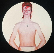 David Bowie - Aladdin Sane (Torso) - Single Slipmat