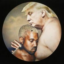 Kanye West & Donald Trump - Dragon Energy - Single Slipmat
