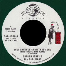 """Sharon Jones & The Dap-Kings - Just Another Christmas Song - 7"""" Colored Vinyl"""