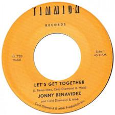 "Jonny Benavidez / Cold Diamond & Mink - Let's Get Together - 7"" Vinyl"