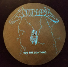 Metallica - Ride The Lightning - Single Slipmat