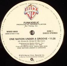 "Funkadelic - One Nation Under a Groove - 12"" Vinyl"
