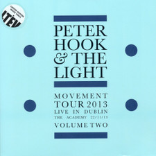 Peter Hook & The Light - Movement Tour 2013 Love In Dublin The Academy 2013 Vol. 2 - LP Colored Vinyl