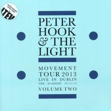 Peter Hook & The Light - Movement Tour 2013 Love In Dublin The Academy 2013 Vol. 2 - LP Colored Vinyl