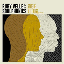 Ruby Velle & The Soulphonics - State Of All Things - LP Colored Vinyl