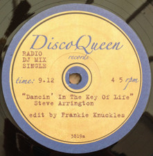 "Steve Arrington / The Trammps - Dancin' In The Key Of Life / Disco Party (Frankie Knuckles Edits) - 12"" Vinyl"