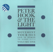 Peter Hook & The Light - Movement Tour 2013 Love In Dublin The Academy 2013 Vol. 1 - LP Colored Vinyl