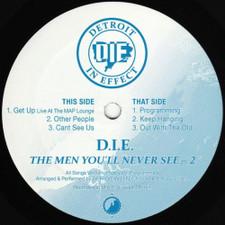 """D.I.E. - The Men You'll Never See Pt. 2 - 12"""" Vinyl"""