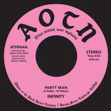 """Infinity - Party Man - 7"""" Vinyl"""