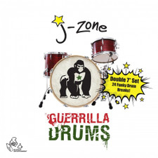 """J-Zone - Guerrilla Drums - 2x 7"""" Vinyl"""